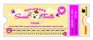 Tickets for Sweet Tooth Tour 2015
